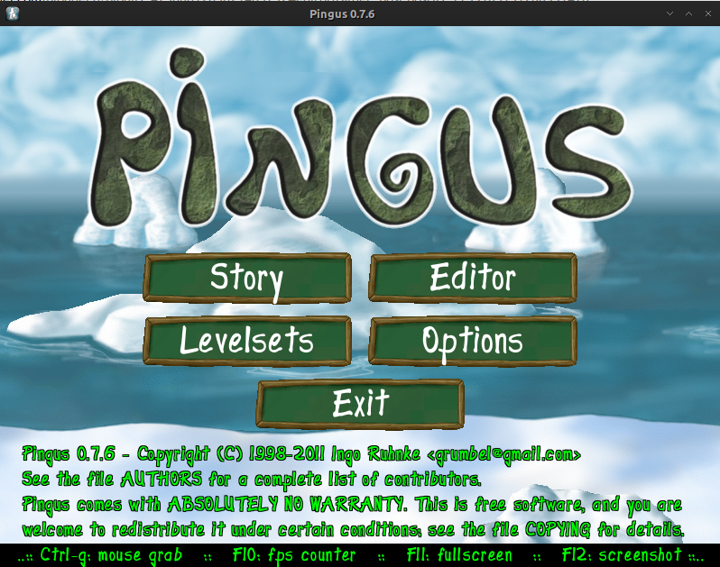 Pingus - Lemmings look like games for archlinux