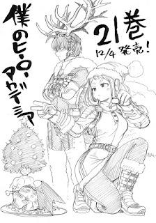 "Manga: Kōhei Horikoshi autor de ""My Hero Academia"" realiza una ilustración navideña"