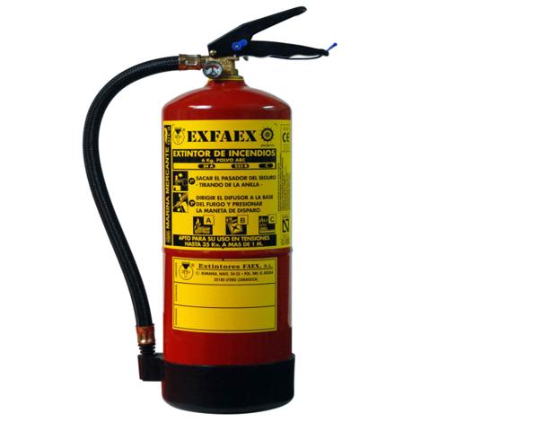 extintores en Madrid, Exfire,