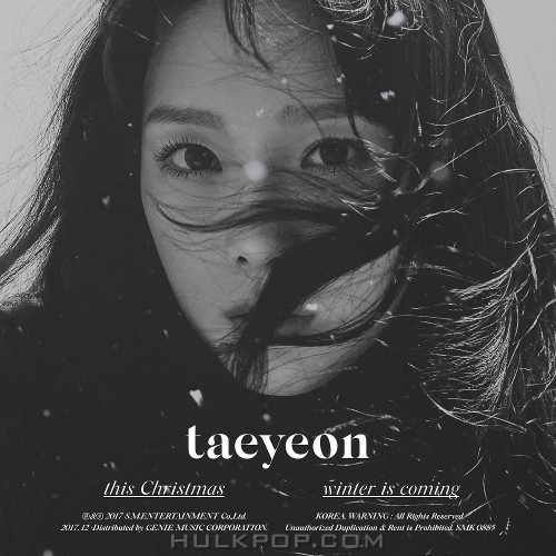 TAEYEON – This Christmas – Winter is Coming – EP