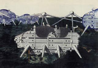 Ciudad Nómada del Grupo Archigram 1960