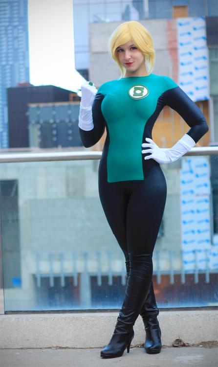 Nude Cosplay Babes Green Lanternsexy Cosplay Girl-7693