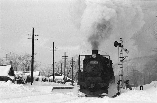 昭和49年1月、石北線女満別、端野駅