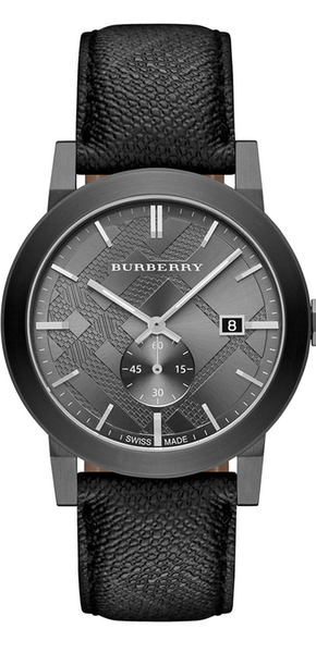 Burberry Gunmetal Beat Check Watch