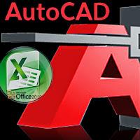 Menyalin / mengcopy tabel MTO di AutoCAD ke Excel