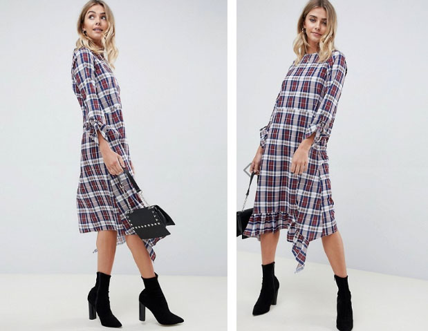 ASOS Check Dress - My Top High Street Finds #3 - The Autumn Edit // Lauren Rose Style // Fashion Blogger London Wishlist