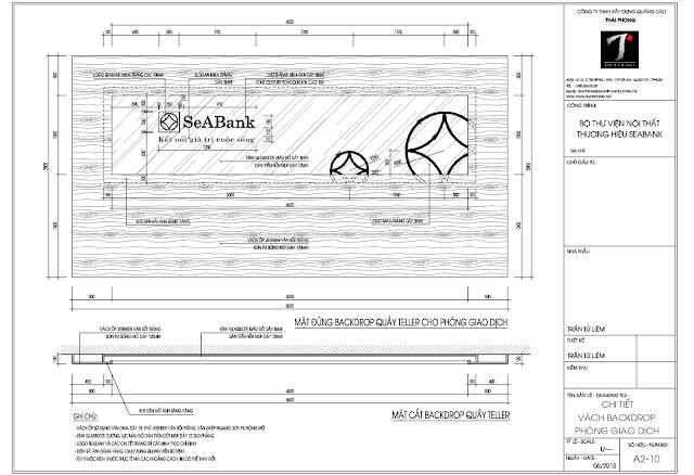 Bản vẽ Backdrop file AutoCAD