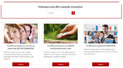 voteaza online pentru proiectele orasului tau