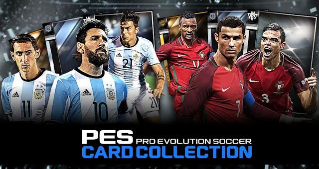 Pes Card Collection apk - Game thẻ bài quản lý đội hình bóng đá từ KONAMI