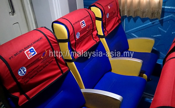 VIP Seats on Bahari Express Fast Boat