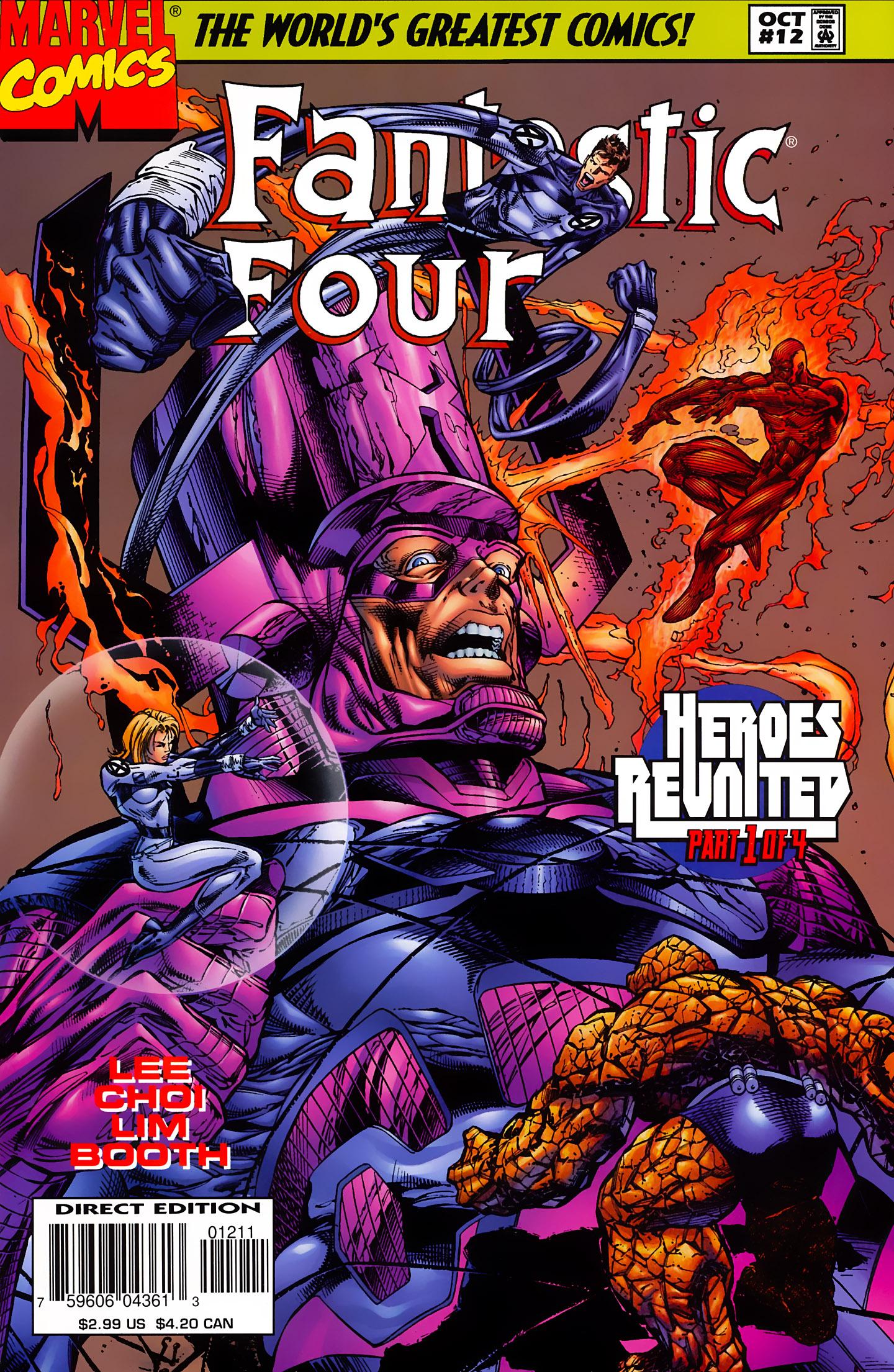 Fantastic Four (1996) 12 Page 1