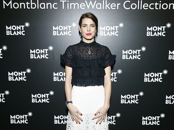 Charlotte Casiraghi, Princess Stephanie, Princess Charlene attended 27th SIHH gala dinner in Geneva.