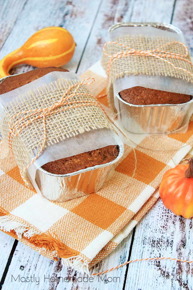 Mini Cranberry Pumpkin Bread Recipe