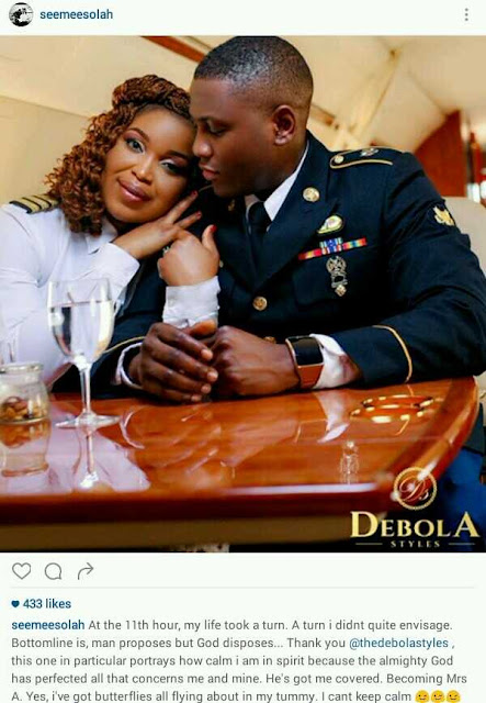 See These Beautiful Pre-wedding Photos Of Two Pilots