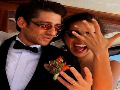 Seda Türkmen Bora Akkaş evlendi