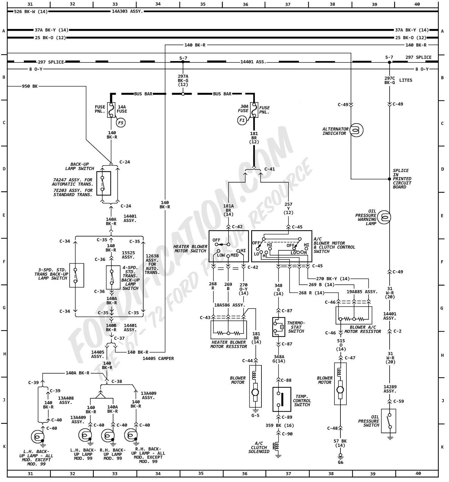 wiring diagram motor 1999 f150 radio ac speed picture