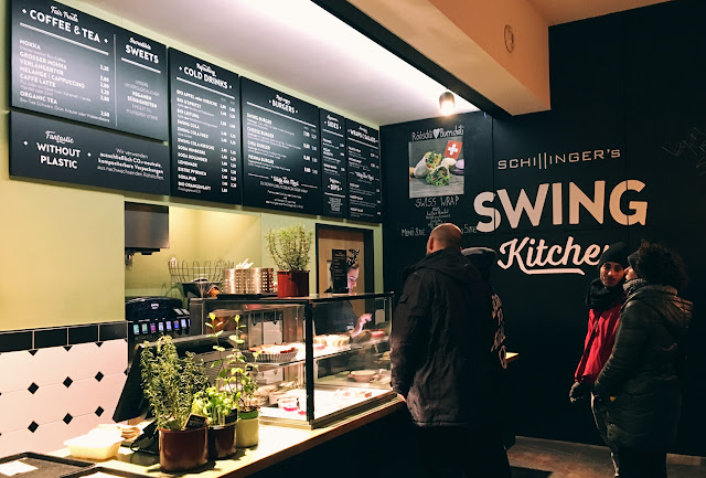 Swing Kitchen, Operngasse, Vienna