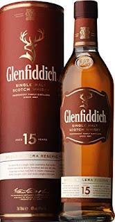 Glenfiddich12yearsのボトルとケース