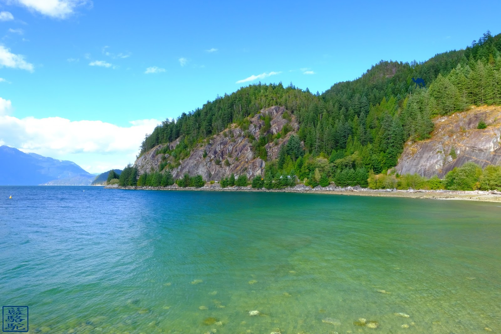 Le Chameau Bleu - Les eaux de Porteau Cove