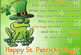Happy Great St Patrick's Day Quote