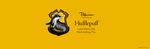 Pottermore Hufflepuff poster