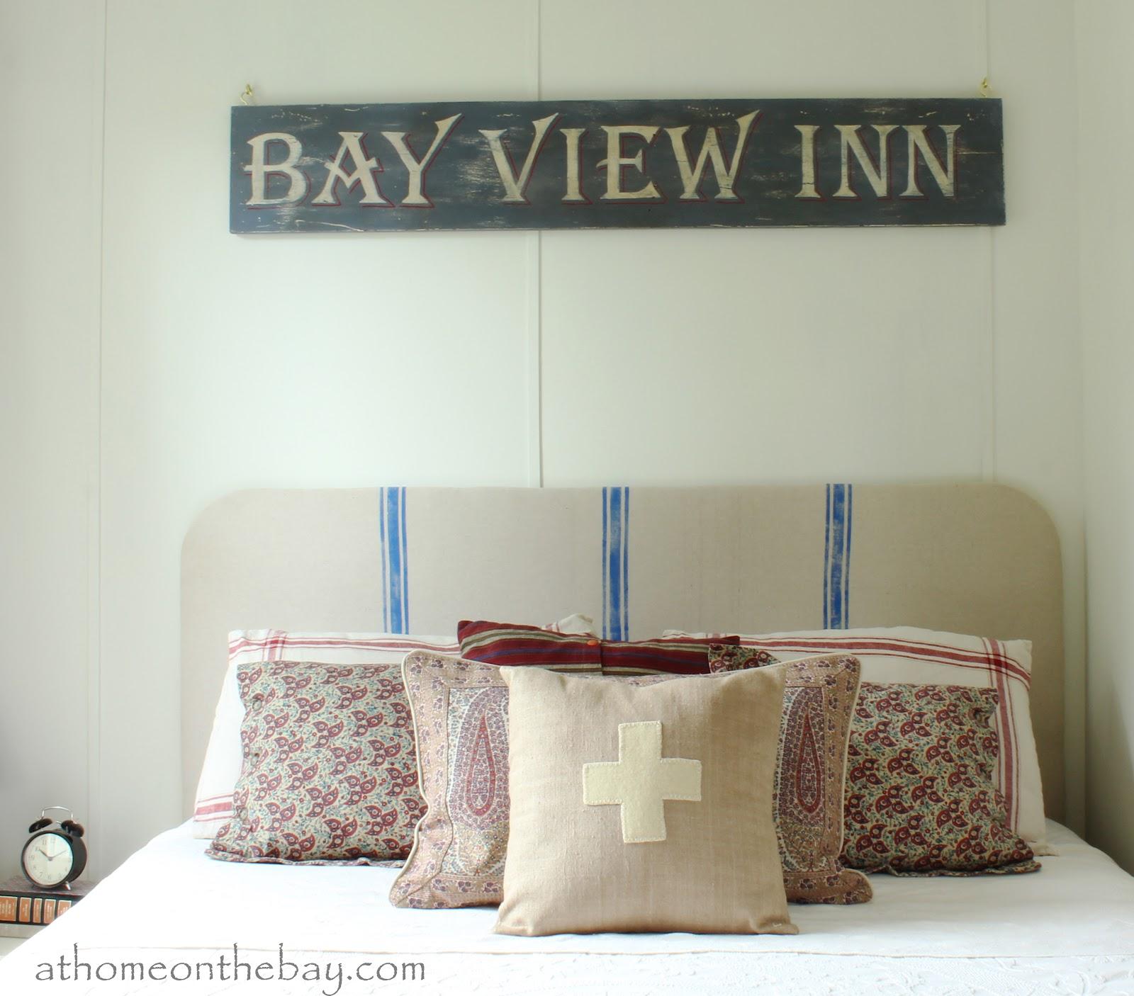 diy: vintage sign