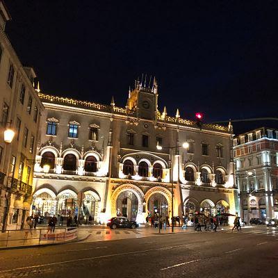 Lisboa. Estación