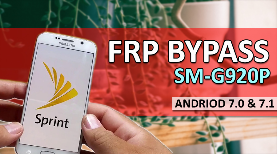 How To Bypass Frp Sm-G920p & All 7 0 & 7 1 Vesions Samsung
