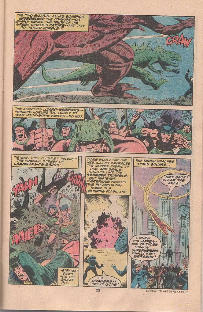 Godzilla (1977) Issue #22 #22 - English 14