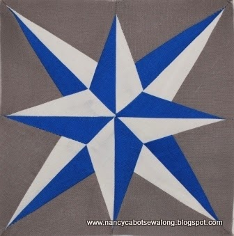 Moore About Nancy 35 Star Quilt Blocks