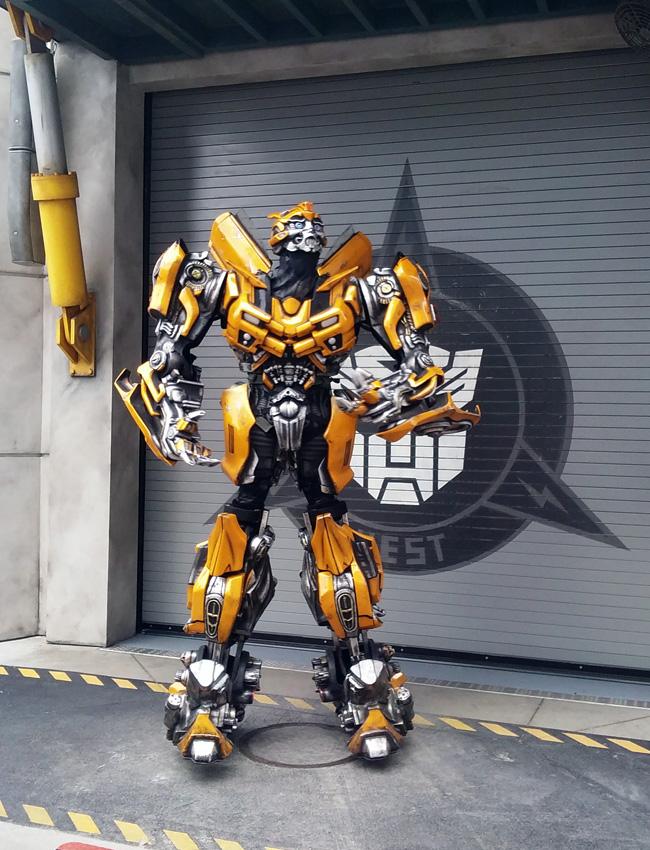 universal studios bumblebee