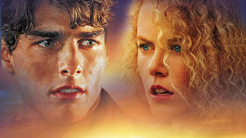 Promo poster art for Ron Howard's 1992 film 'Far and Away' starring Tom Cruise and Nicole Kidman