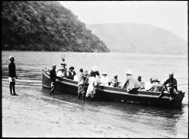 Travel by boat, East Africa, 1920s