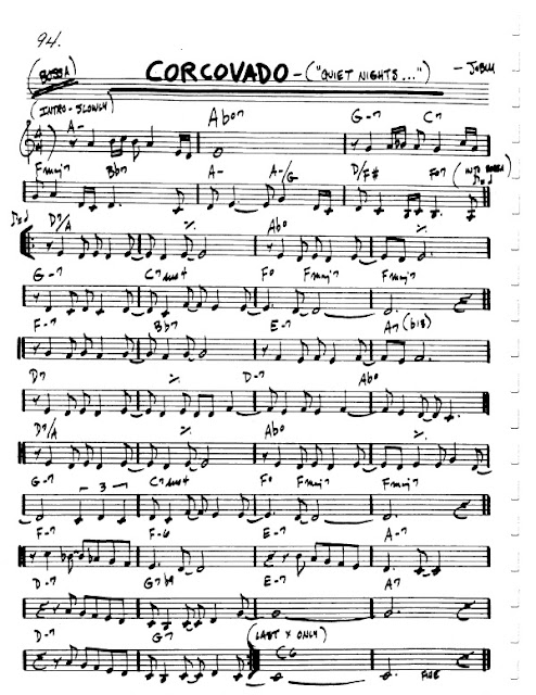 Partitura Violín Jobim