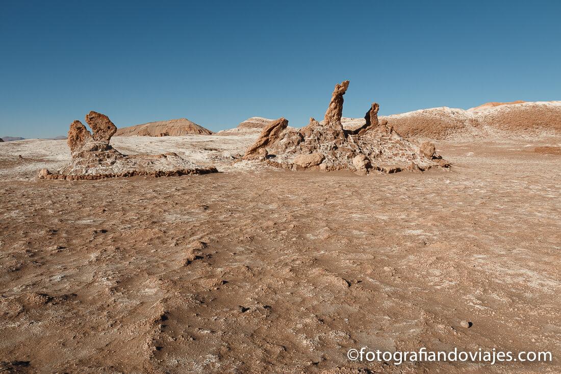 Las Tres Marías en el Valle de la Luna de Atacama