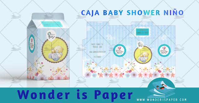 Caja Baby Shower Oso