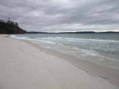 Playa de Orford, en Tasmania
