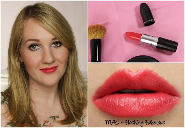 MAC Flocking Fabulous lipstick swatch