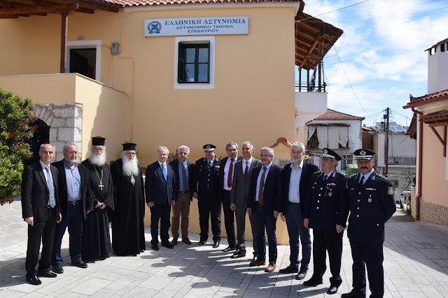 Γ.Γκιόλας: Ομόθυμη βούληση των πολιτών και των φορέων του Δήμου το Αστυνομικό Τμήμα Επιδαύρου