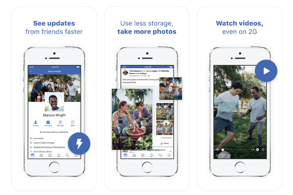 Facebook Lite app for iOS released
