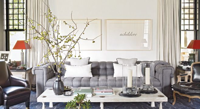 Ideas For That Wall Behind The Sofa * Kelly Bernier Designs