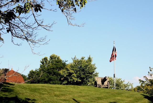 Historic cannon in Grant Park, Galena IL.