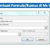 Cara Membuat Rumus Penjumlahan di Microsoft Word