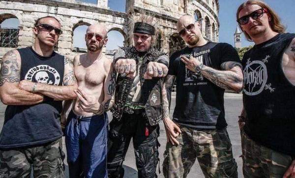 extreme noise terror band grindcore crust punk england