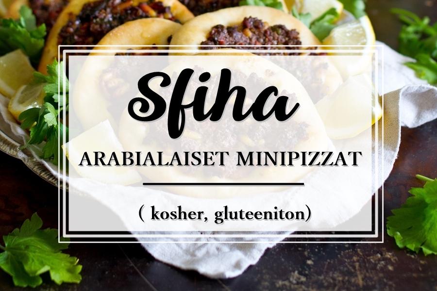 sfiha_arabialainen minipizza_Hebron_kosher_gluteeniton_Andalusian auringossa_ruokablogi_matkablogi_1