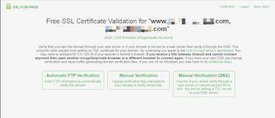 verify domain name ownership for ssl certifcate