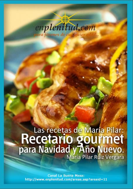 Mis recetas de Navidad – Maria Pilar Ruíz Vergara