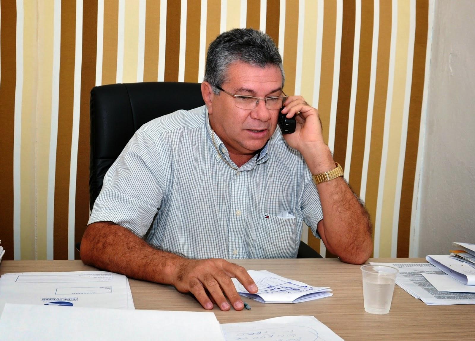 Resultado de imagem para prefeito de Felipe Guerra  Haroldo Ferreira de Morais