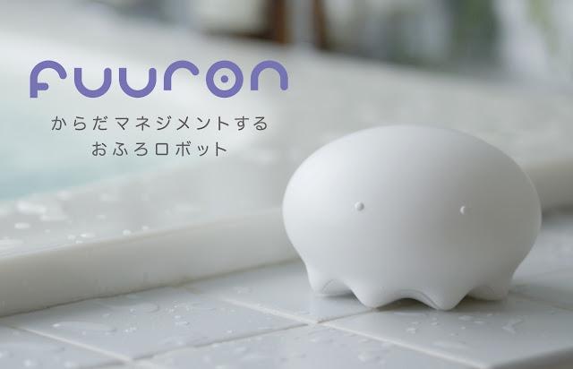 Японский робот Fuuron для ванны