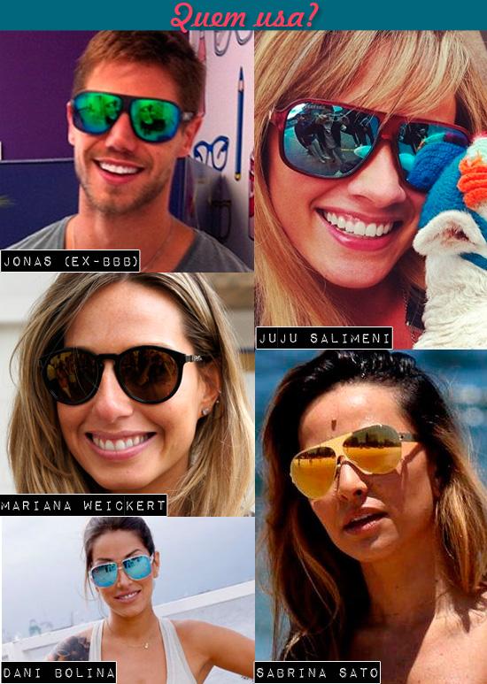 99568609381b5 Sonho de Consumo ❤  Como usar  óculos espelhado